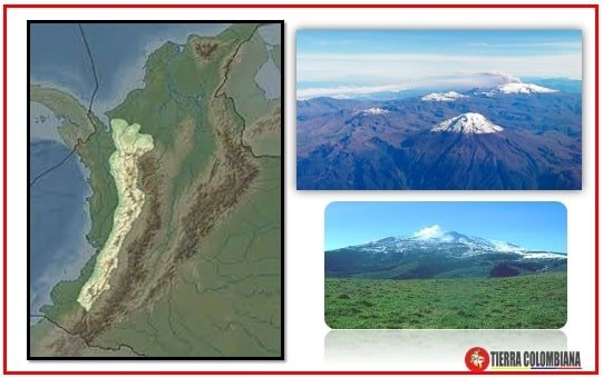 Sistema montañoso de la Region Andina