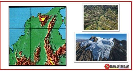 Sistema montañoso de la zona costera