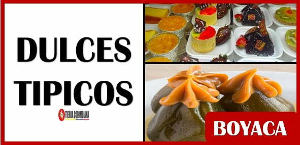 Dulces tipicos de Boyaca Colombia