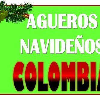 Agueros de navidad Colombia